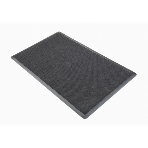 Nomad 8500 Aqua Plus Wiper Matting, Dual Fiber, 48 x 72, Gray