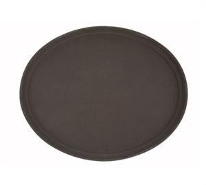 Non-Slip Fiberglass Tray, Brown, 26''X22
