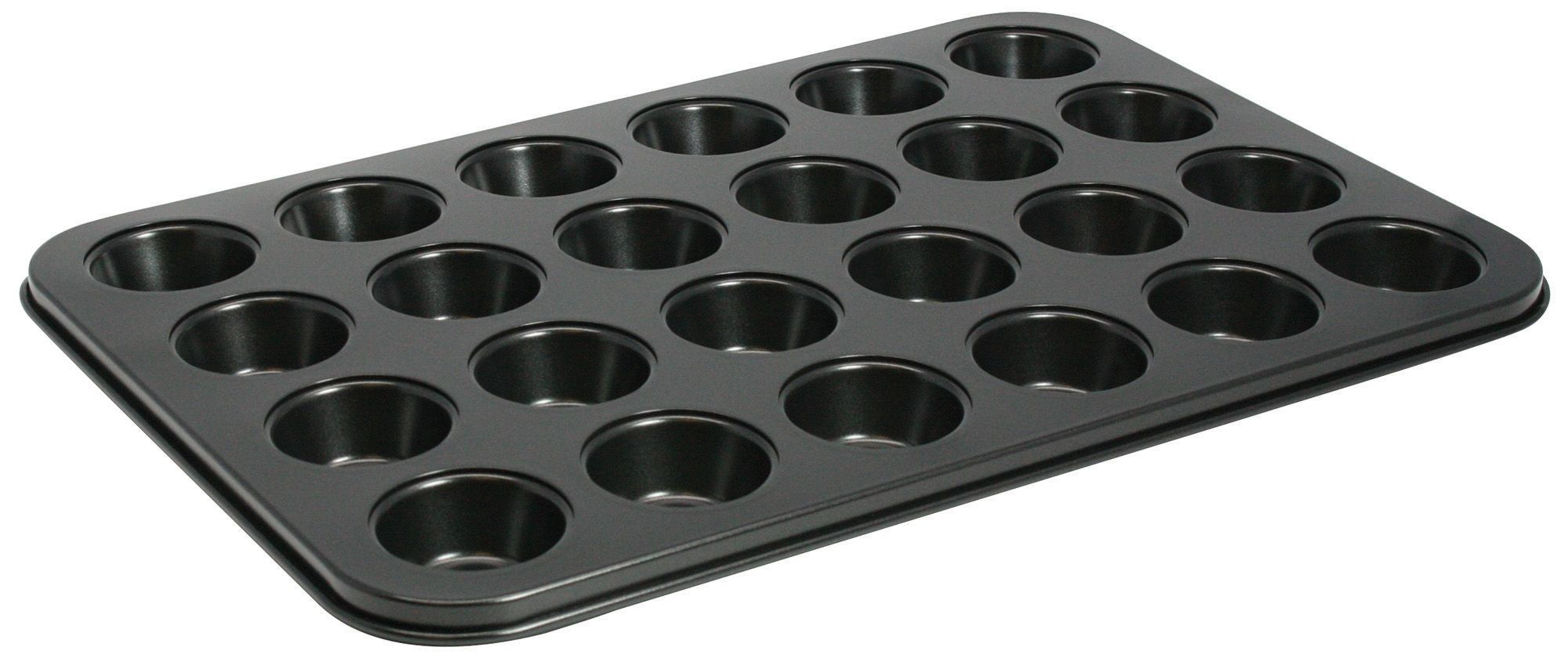 Non-Stick Aluminum 24-Compartment Mini Muffin Pan, 13-3/4