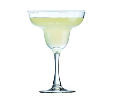Non-Tempered 12 Oz. Excalibur Margarita Glass - 6-5/8