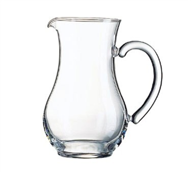 Cardinal 59319 Luminarc 16.75 oz. Glass Serving Pitcher with Pour Lip