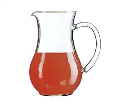 Cardinal 55239 Luminarc 44 oz. Glass Serving Pitcher with Pour Lip