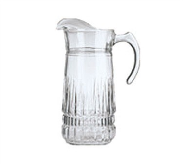 Cardinal 9549 Arcoroc Imperator 64 oz. Pitcher with Pour Lip