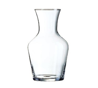 Non-Tempered Luminarc 1 Liter Glass Wine Carafe - 8