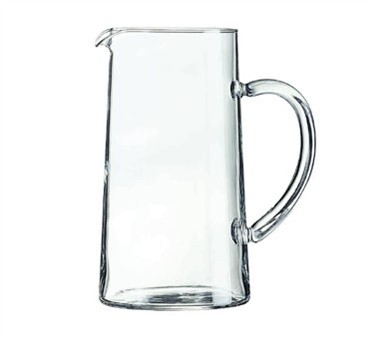 Non-Tempered Luminarc Glass 44 Oz. Serving Pitcher With Pour Lip - 7-7/8