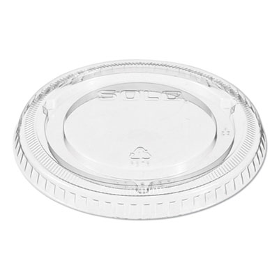 Non-Vented Cup Lids, Fits 9-22 oz. Cups, Clear, 1000/Carton