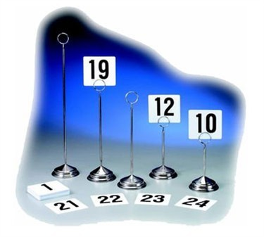 """TableCraft TN100 Tabletop Number Cards, 1-100, 4"""" x 4"""""""