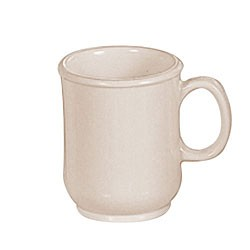 Thunder Group ML901I Nustone Ivory Bulbous Mug with Handle 8 oz.