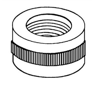 Franklin Machine Products  287-1029 Nut (Guage Glass, F/ 5/8 Od)