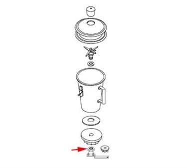 Franklin Machine Products  176-1166 Nut, Lock