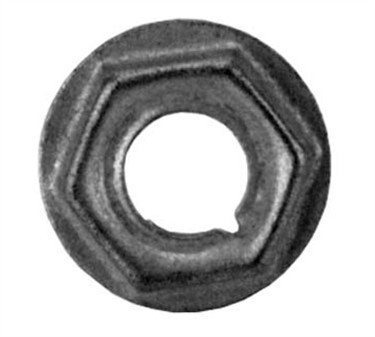 Franklin Machine Products  250-1025 Nut, Palnut (3/8-27 Thd)