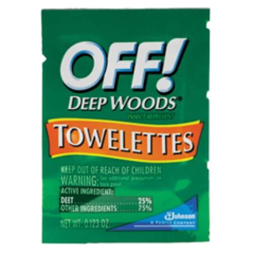 OFF! Deep Woods� Towelettes