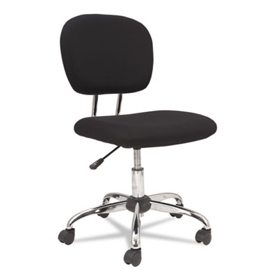OIF Black Mesh Task Chair with Chrome Base