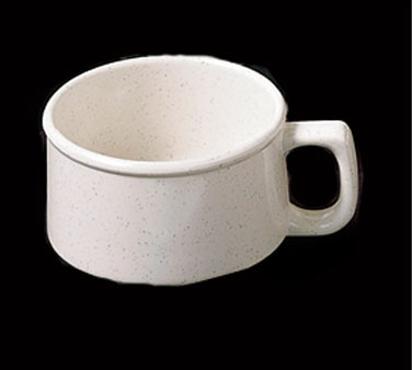 Thunder Group AD9016WS San Marino Melamine Soup Mug with Handle 9 oz.
