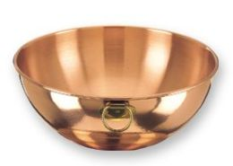 Old Dutch 770 Solid Copper Beating Bowl, 5 Qt.