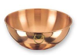 Old Dutch International 770 Solid Copper Beating Bowl, 5 Qt.