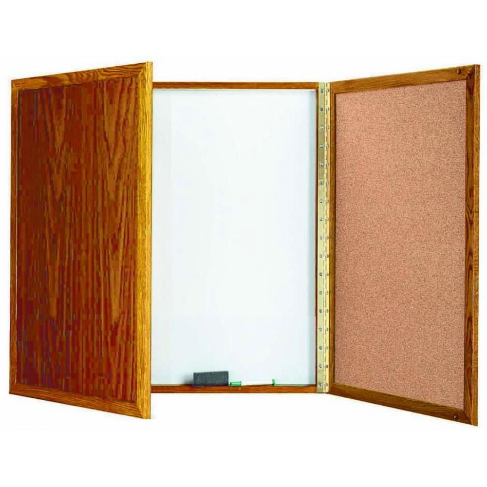 Oak Enclosed Melamine Planning Board - 36