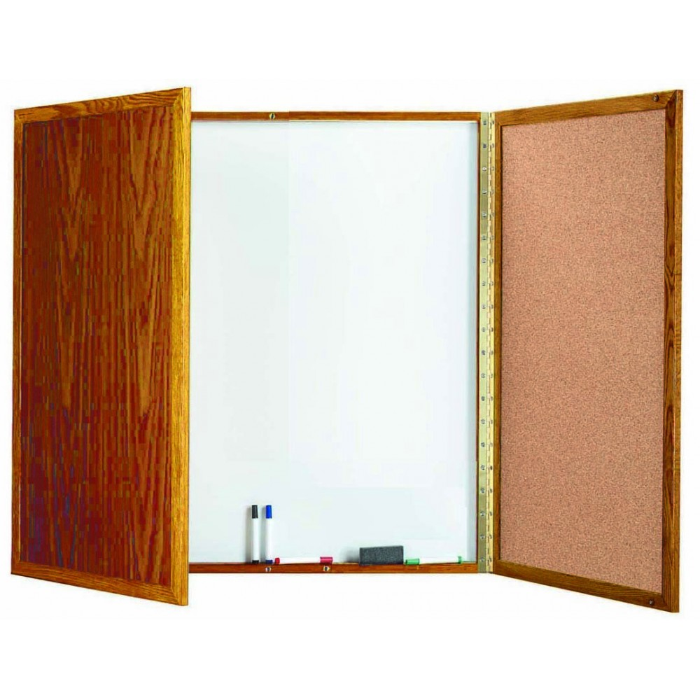 Oak Enclosed Melamine Planning Board - 40