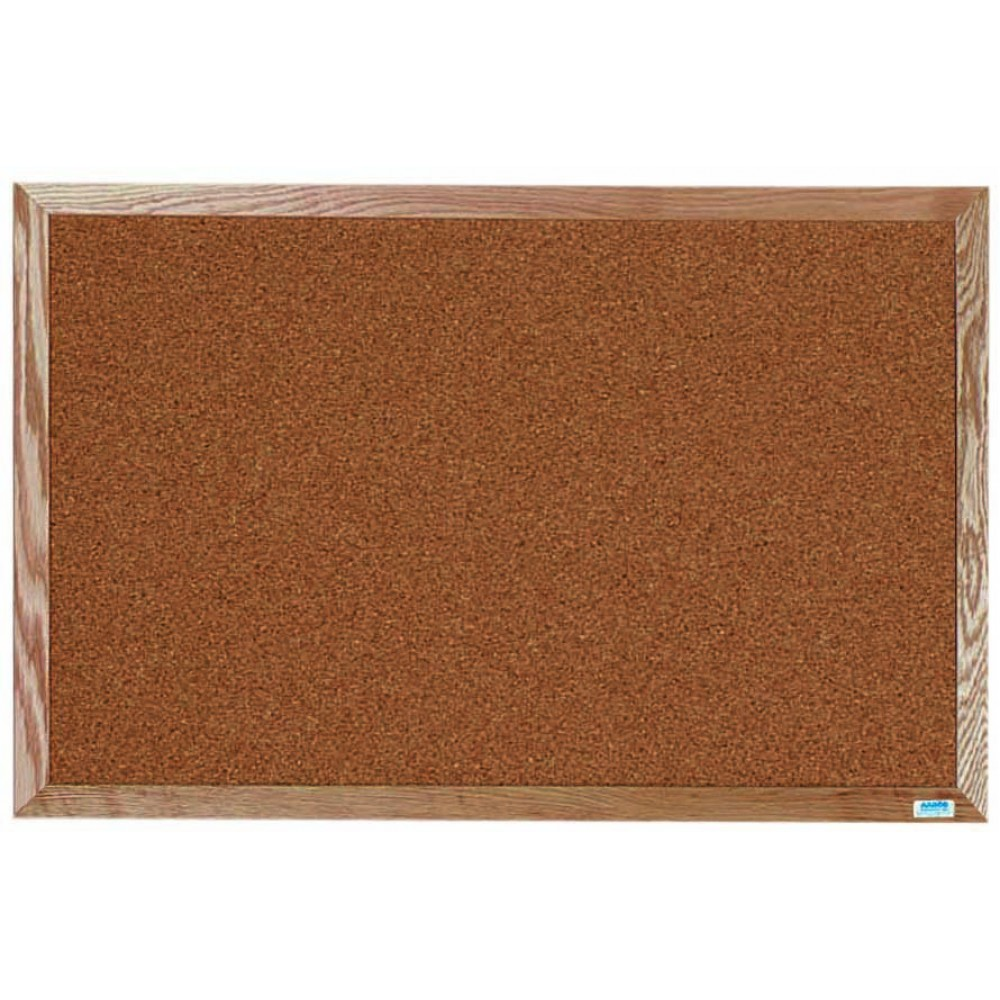Oak Frame Bulletin Board - 24
