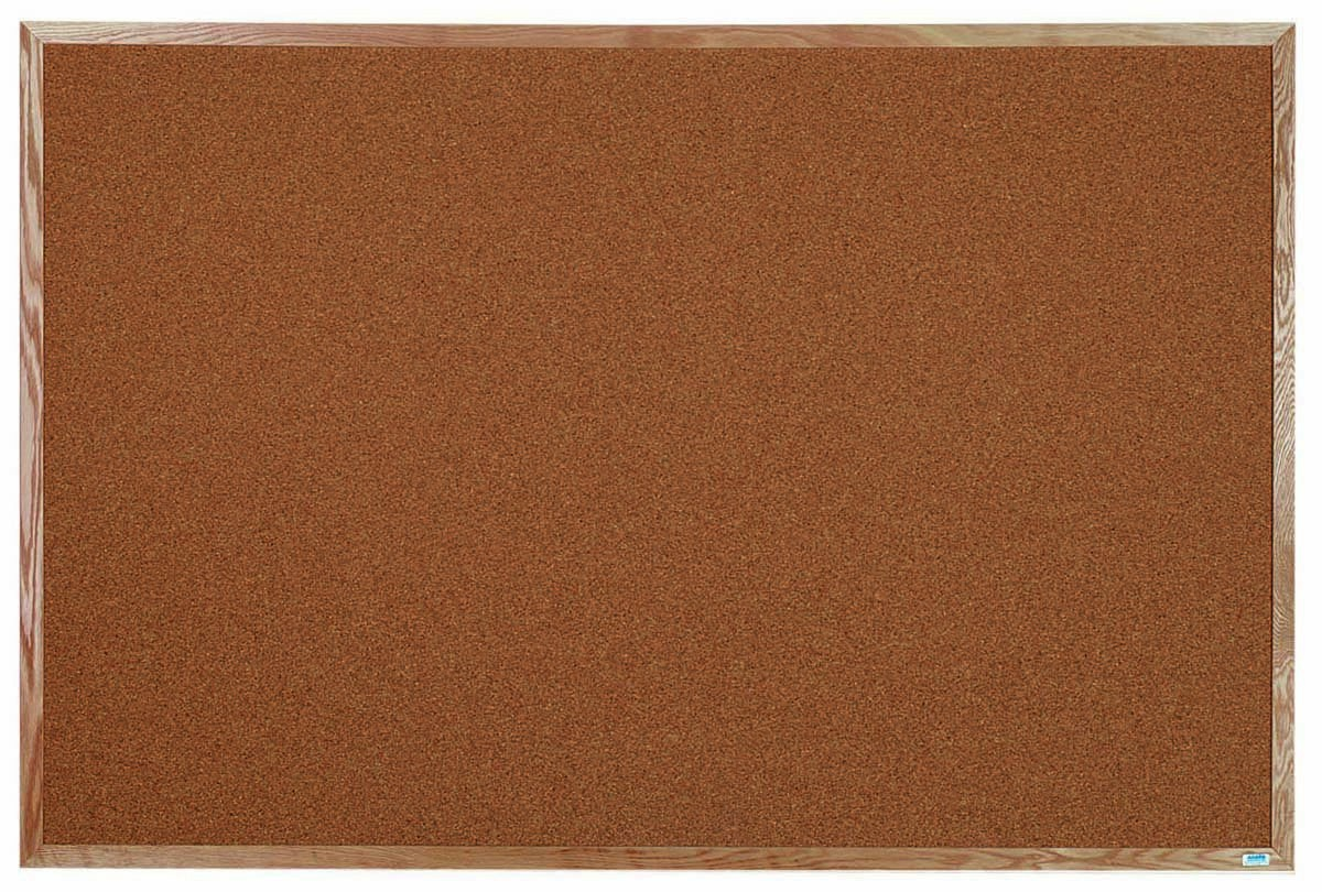 Oak Frame Bulletin Board - 48