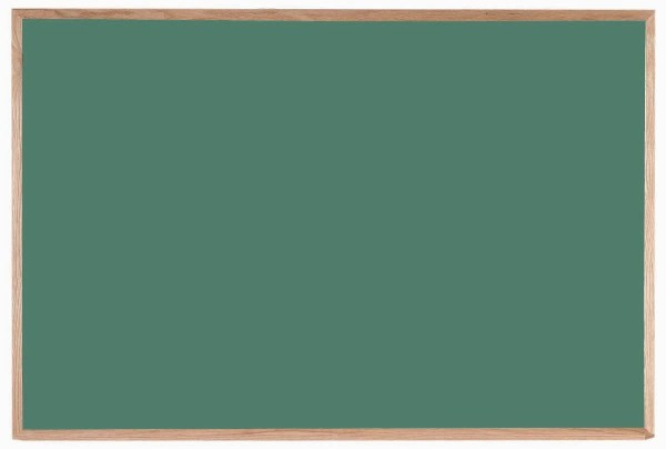 Oak Frame Composition Chalkboard (Choice of colors) - 48