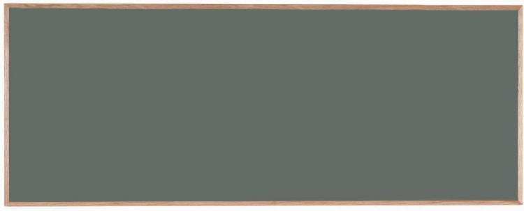 "Aarco Products OS48120 Porcelain on Steel Chalkboard with Oak Frame (Choice of Colors), 48""H x 120""W"