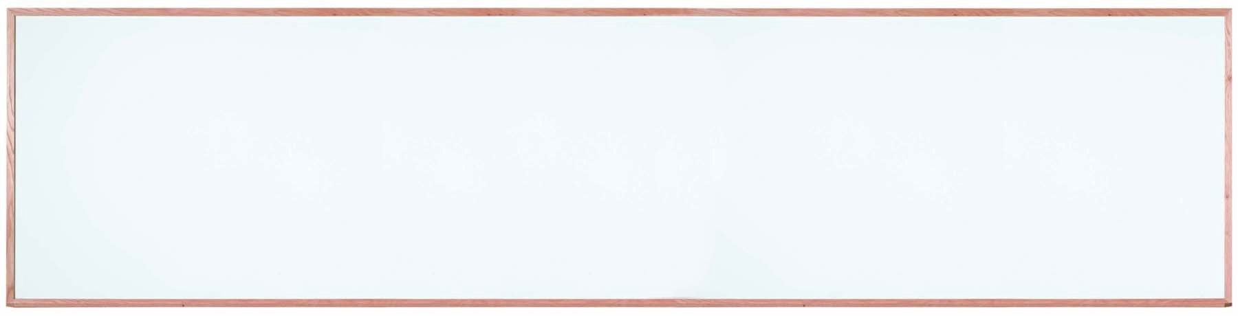 """Aarco Products WOS48192 Oak Frame Porcelain Markerboard, 48""""H x 192""""W"""