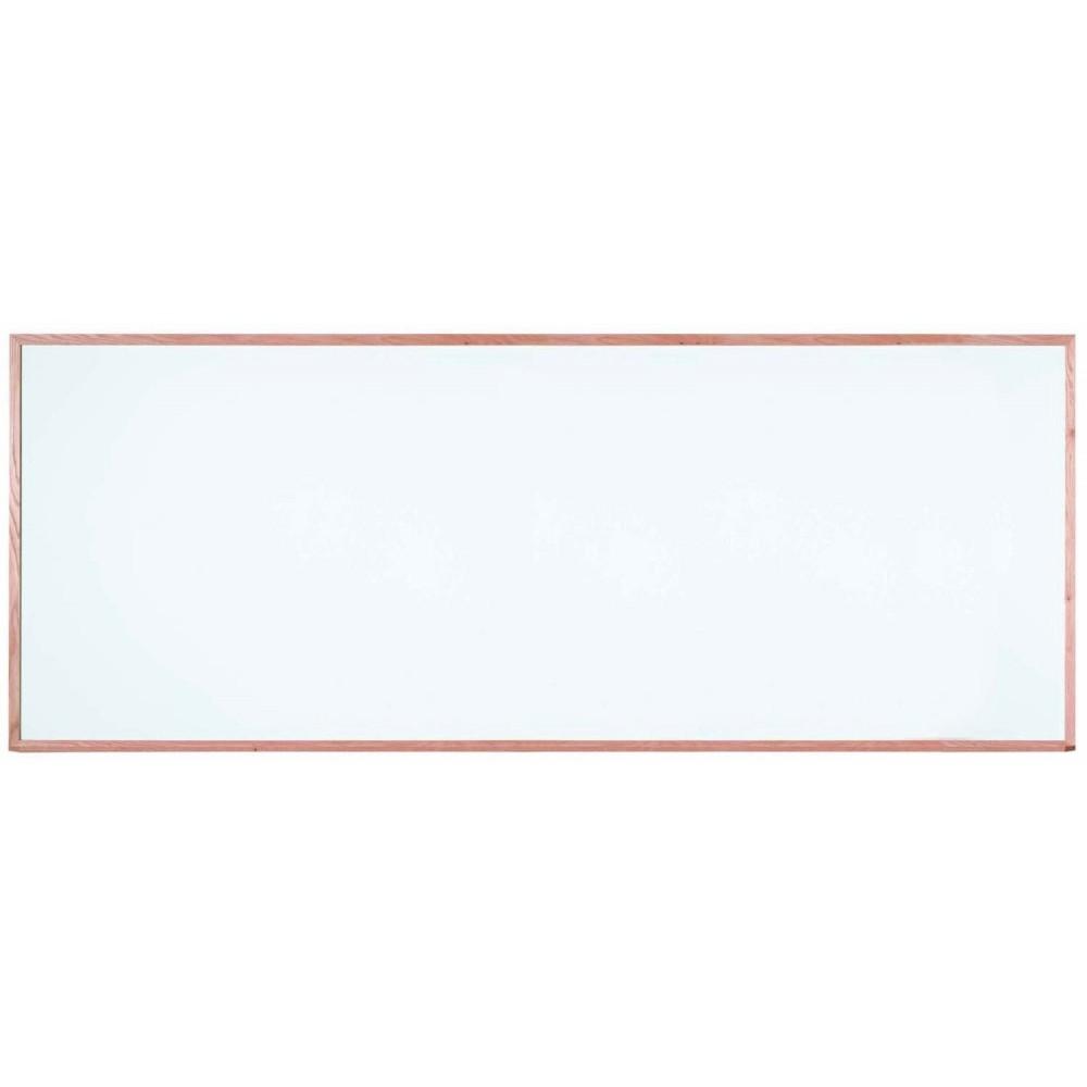 Oak Frame Porcelain Markerboard - 48