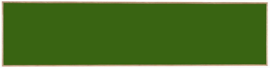 "Aarco Products OS48192 Porcelain on Steel Chalkboard with Oak Frame (Choice of Colors), 48""H x 192""W"