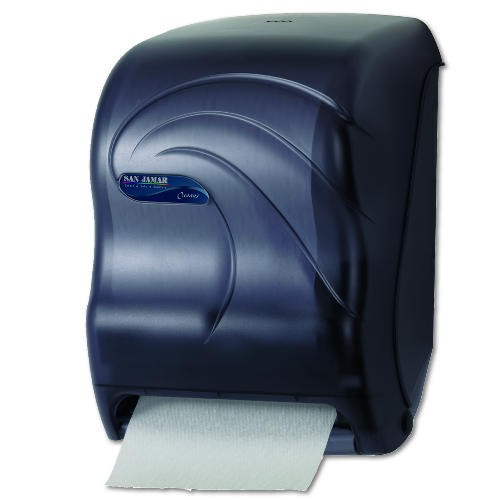 Oceans Paper Towel Dispenser, Uses 4D Battery Black Pearl