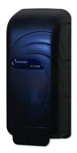 Oceans Soap Dispenser, Transparent Black