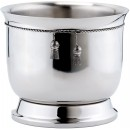 Old Dutch International 1108 Stainless Steel Doubled-Walled Wine Cooler with Tie Knot, 6 1/4 Qt.