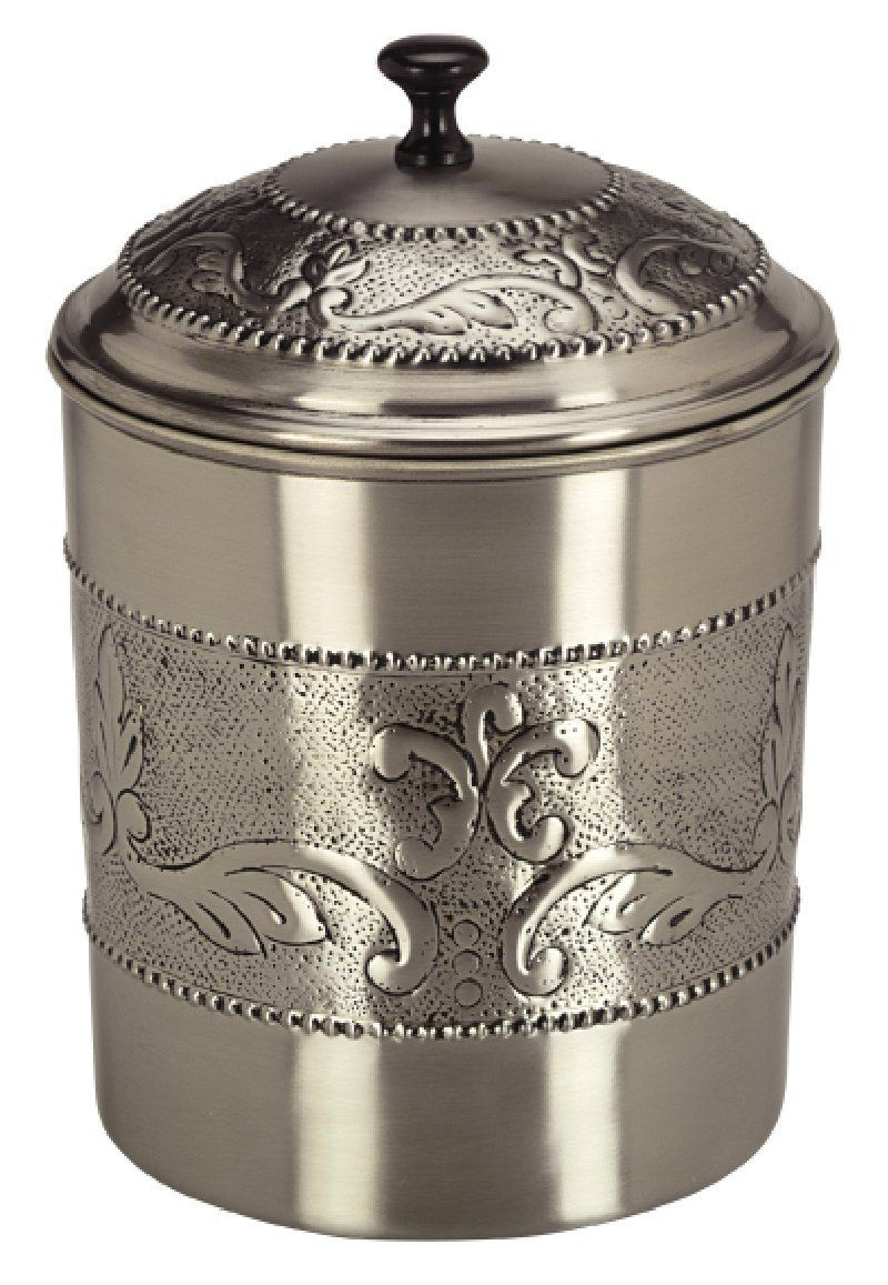 Old Dutch International 412 Antique Embossed Victoria Cookie Jar with Fresh Seal Cover, 4 Qt.