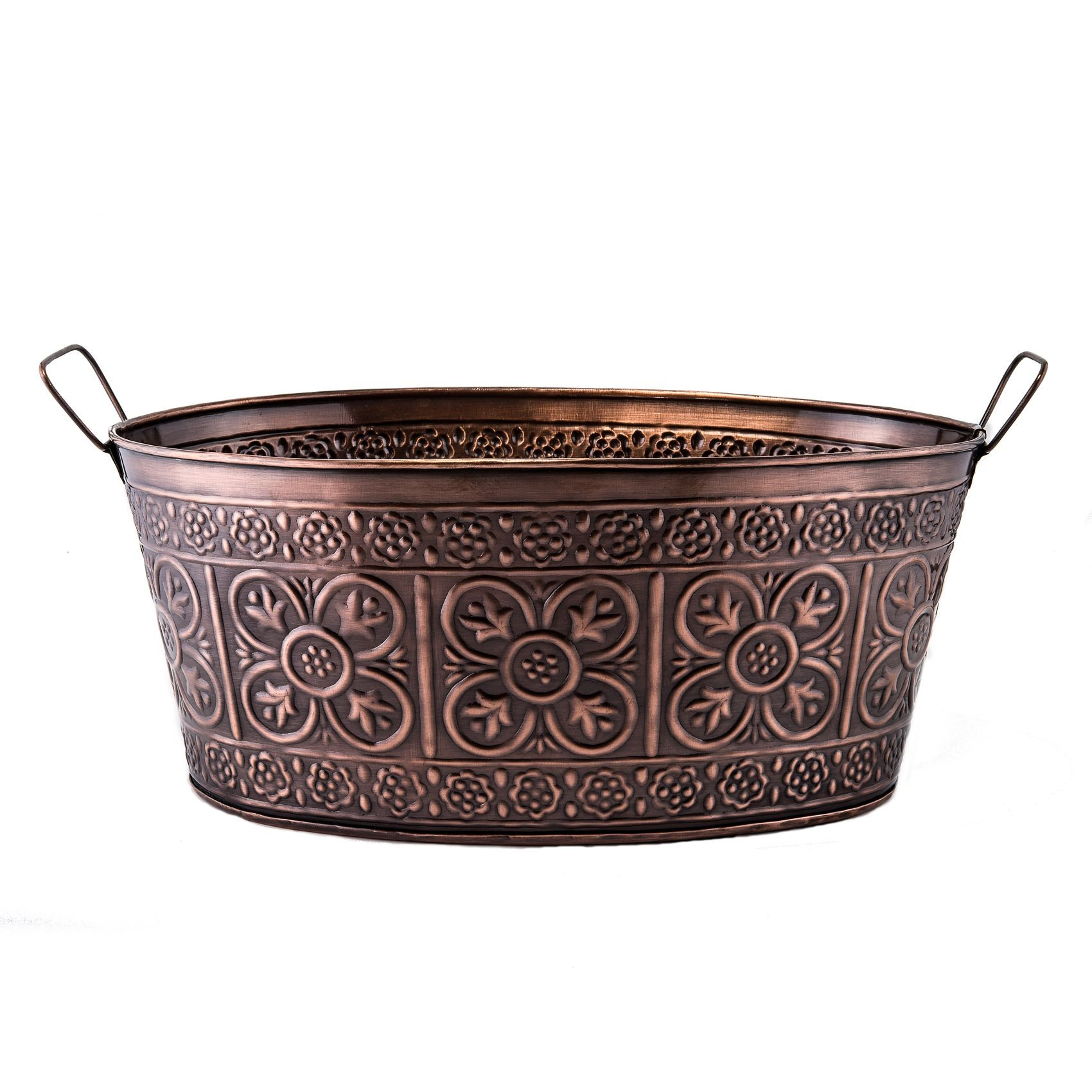 Old Dutch International 634 Antique Copper Party Tub, 3 1/2 Gallon