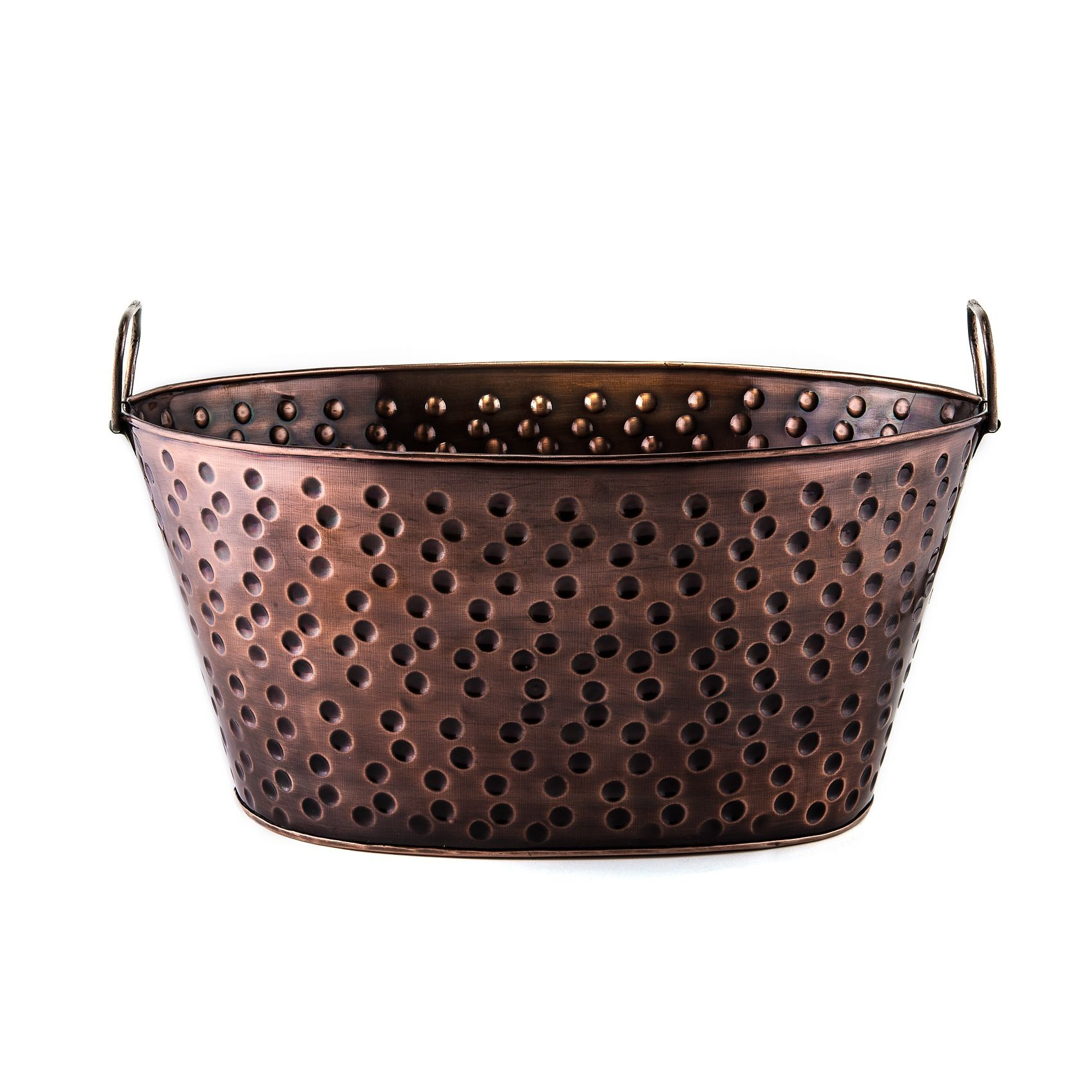 Old Dutch International 635 Antique Copper Party Tub, 4 Gallon