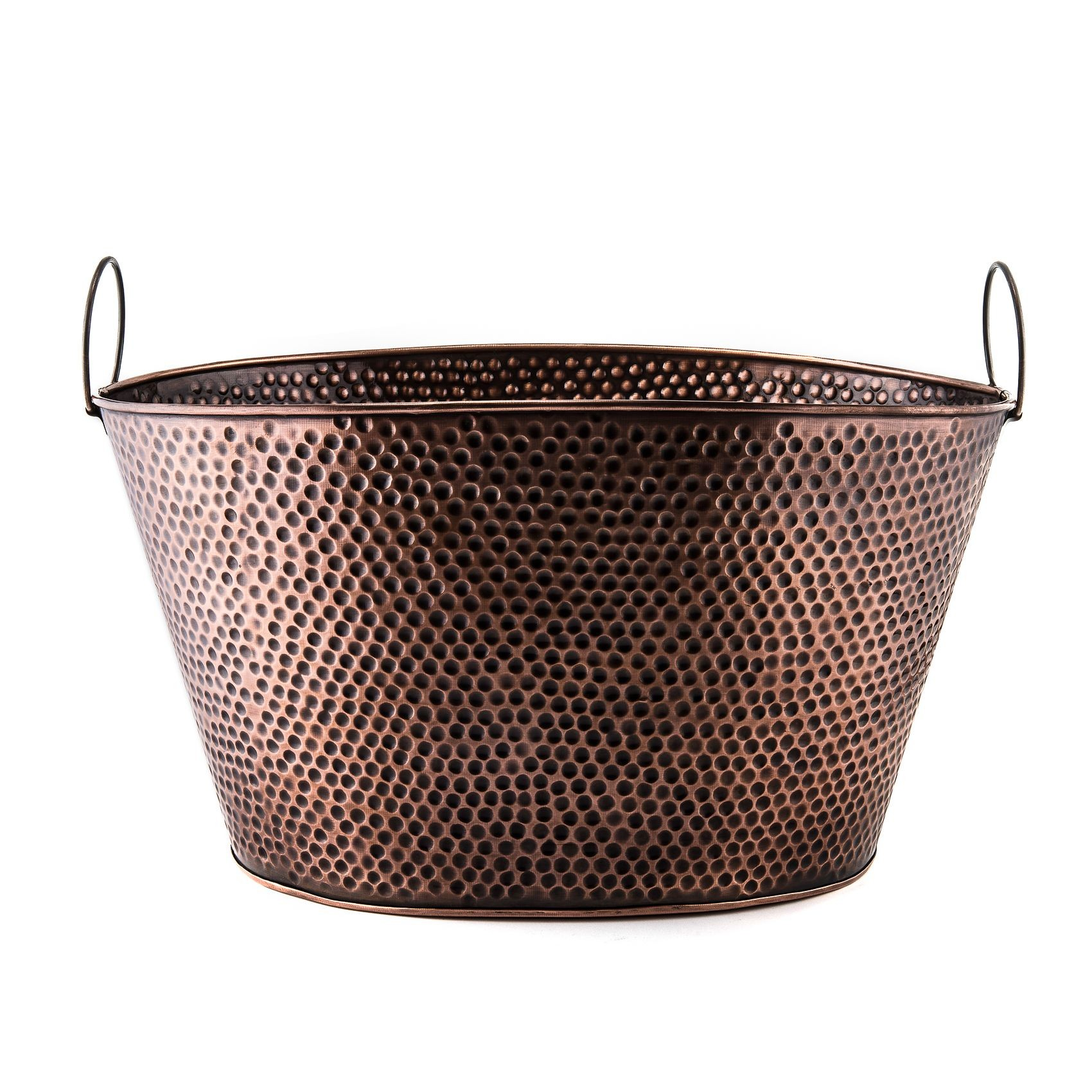 Old Dutch International 636 Antique Copper Party Tub, 8 Gallon
