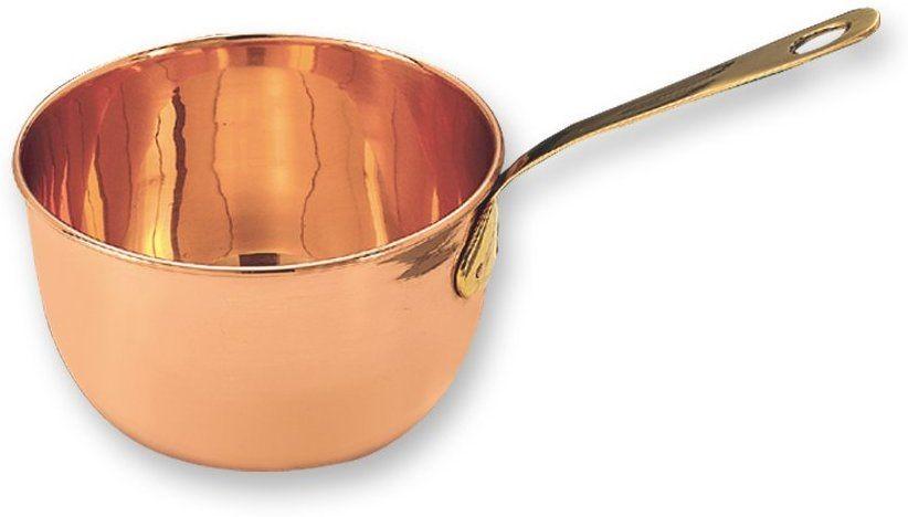 Old Dutch International 768 Solid Copper Beating Bowl/Zabaglione Pan, 2 Qt.