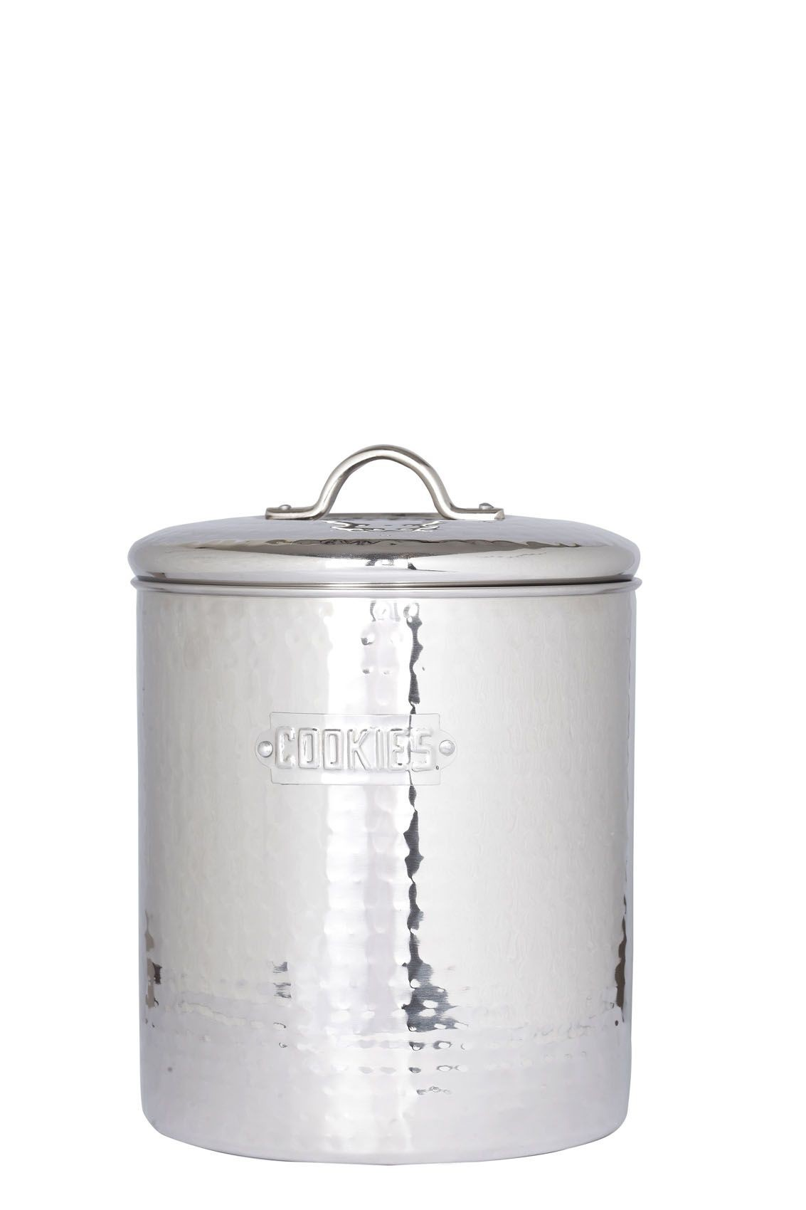 Old Dutch International 945 Stainless Steel Cookie Jar with Fresh Seal Cover, 4 Qt.