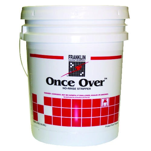 Once Over Floor Stripper, 5 Gallon Pail