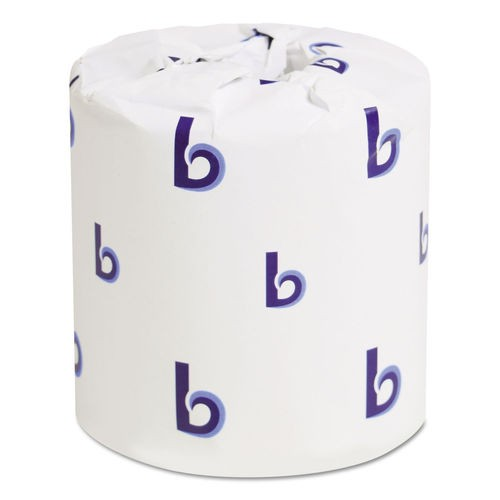 One-Ply Toilet Tissue, 1000 Sheets/Roll, 96 Rolls/Carton