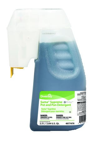 Optfill Dispensing System Suma� Supreme Pot & Pan Detergent, 2.5 Liter Bottle