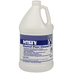 Optimax Neutral Cleaner, Lemon Scent, 1 gal. Bottle
