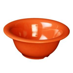 Thunder Group CR5510RD Orange Melamine 10 oz. Soup Bowl 5-3/8""