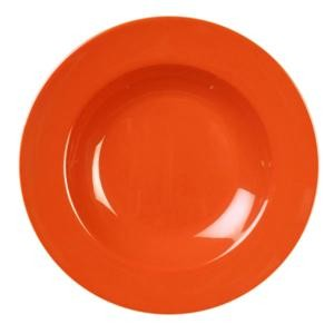 Orange Melamine 16 Oz. Pasta Bowl - 11-1/4