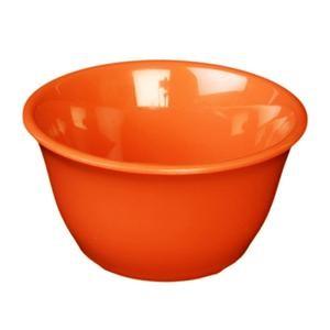 Thunder Group CR303RD Orange Melamine 7 oz. Bouillon Cup