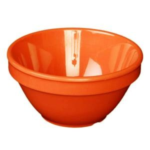 Thunder Group CR313RD Orange Melamine 8 oz. Bouillon Cup
