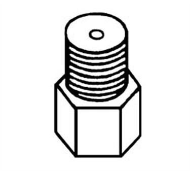Franklin Machine Products  158-1111 Orifice, Threaded (1/8Npt, #55 )