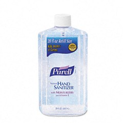 Original Hand Sanitizer, 20-oz. Pump Bottle, Clear
