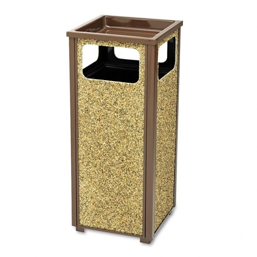 Outdoor Waste Can & Sand Urn, 12 Gallon