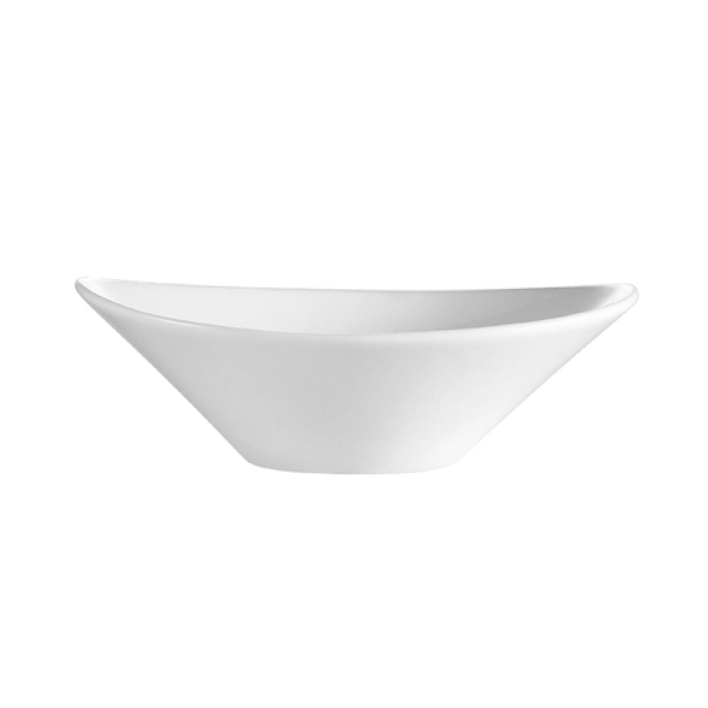 CAC China F-OV9 Sushia Oval 22 oz. Salad Bowl